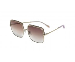 CHOPARD F12S 0594 SHINY ROSE GOLD W/ BROWN LENSES 5918 140 2