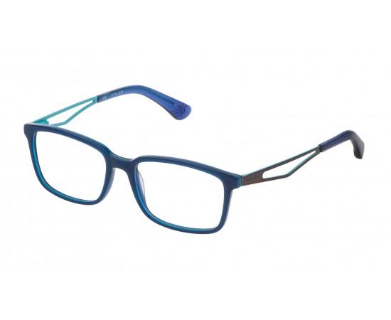 POLICE K072 09DD STRIPED BLUE/WHITE AZURE 4916 135