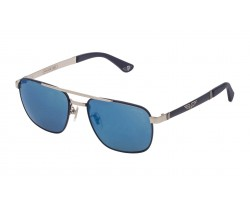 POLICE PL890 F94B SILVER / MATT BLUE 5817 145 3